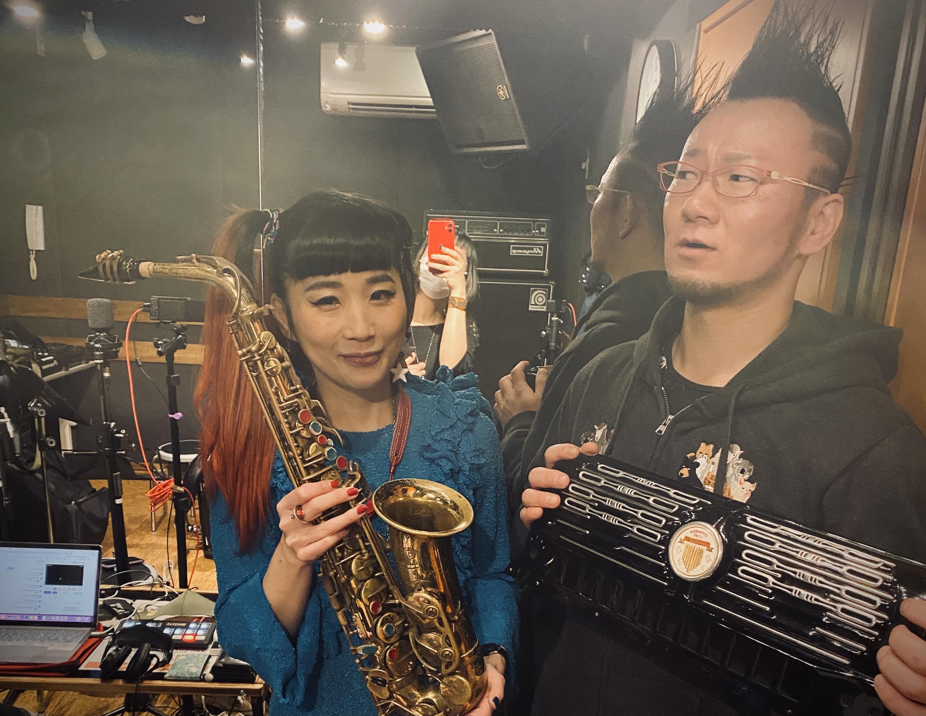 「3/7(日)岡村トモ子sax 都丸智栄acc duo@ロジウラのマタハリ」のアイキャッチ画像